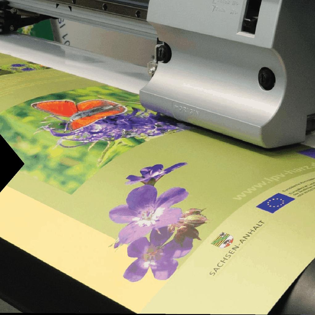 Digitaldruck und Folienplott