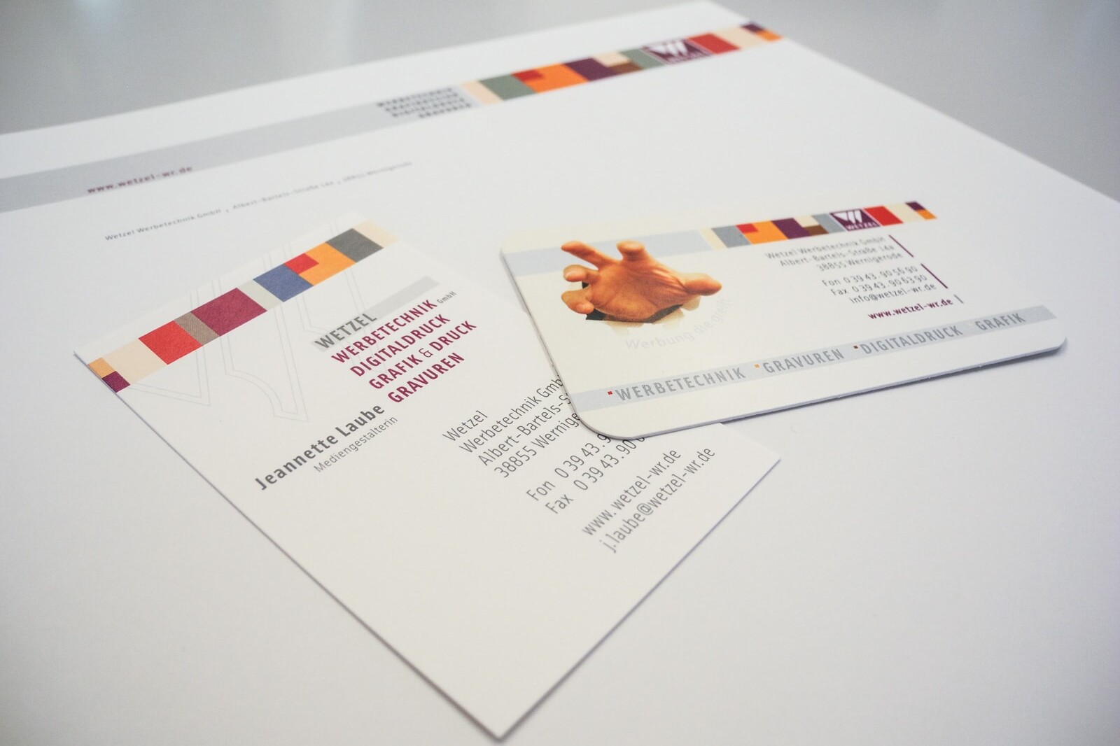 Briefbogengestaltung